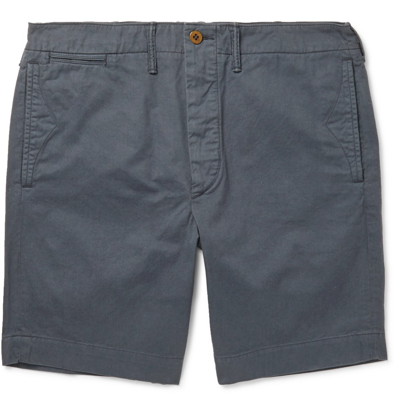 RRL - Slim-Fit Cotton-Twill Chino Shorts - Blue