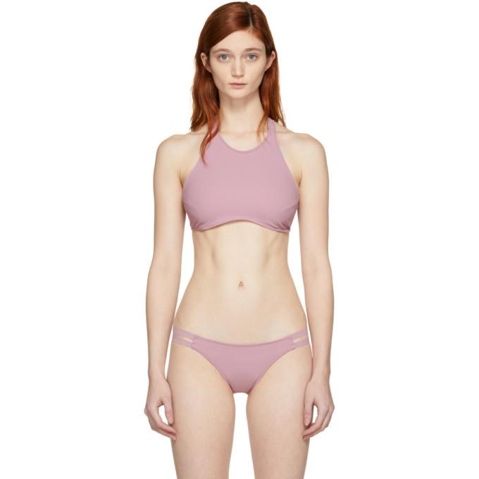 Dusty pink bikini porn stripper dierks