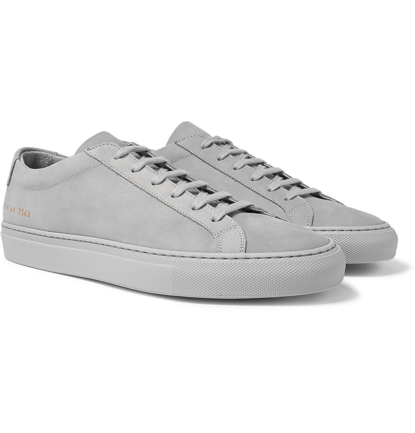 Common Projects - Original Achilles Nubuck Sneakers - Gray