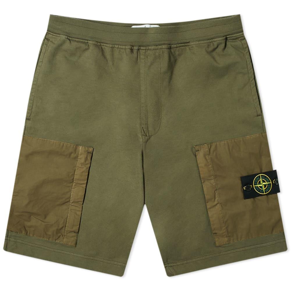 Photo: Stone Island Nylon Patch Pocket Short