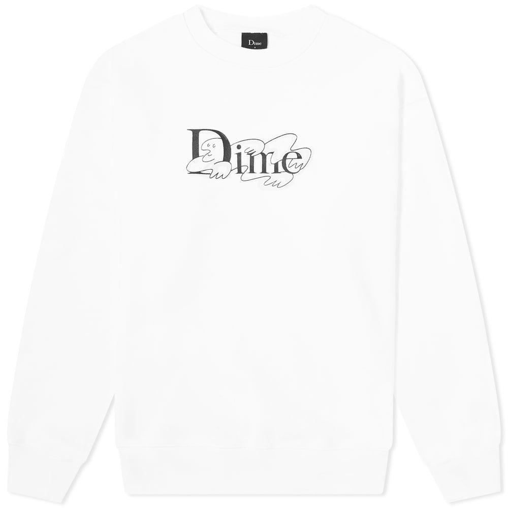 Photo: Dime Chilling Classic Logo Crew Sweat