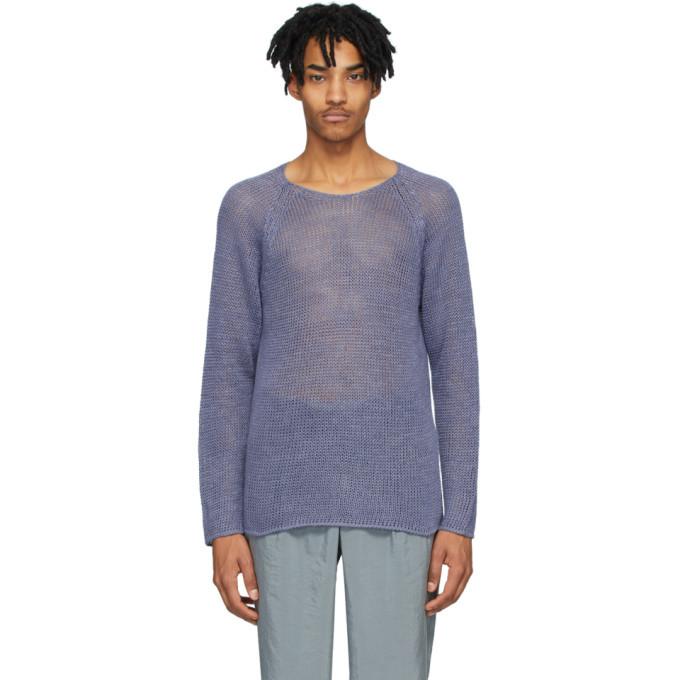 Giorgio Armani Purple Hemp Sweater