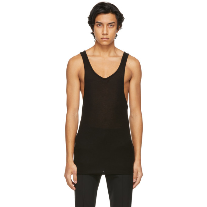 Photo: System Black Racer Back Tank Top