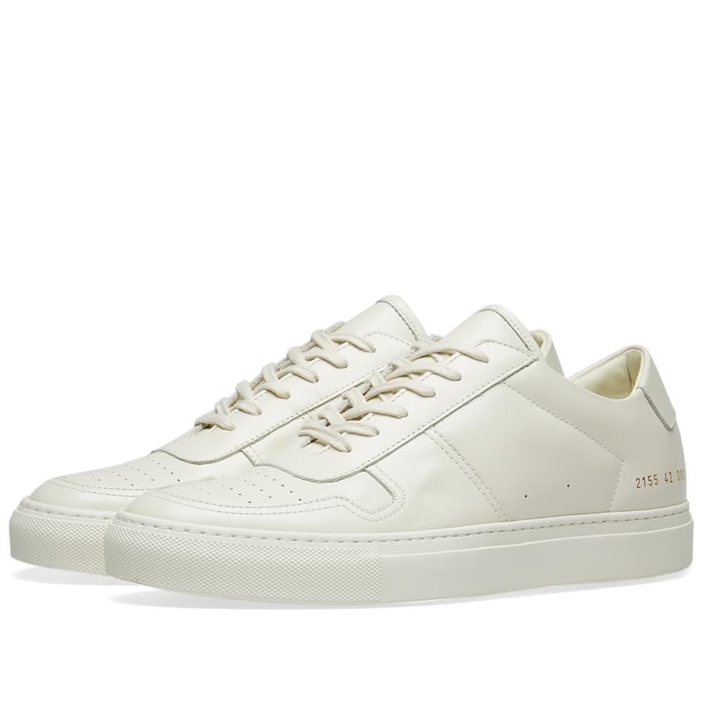 Photo: Common Projects B-Ball Low White