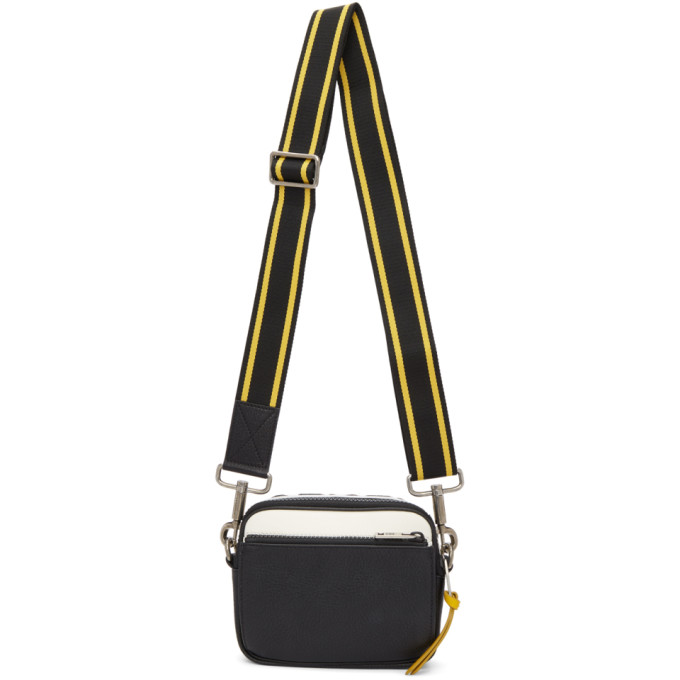 Photo: Givenchy Black and Yellow MC3 Crossbody Bag