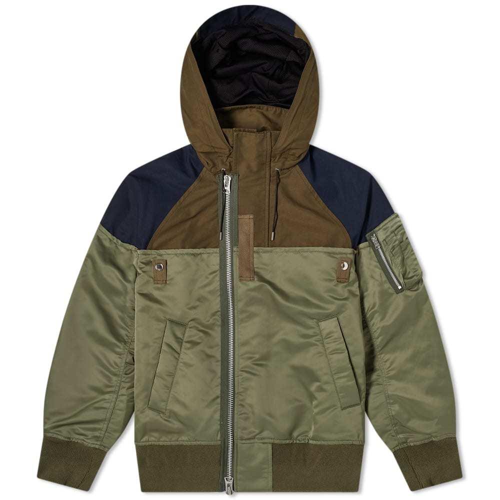 Photo: Sacai Nylon Twill Outdoor Jacket