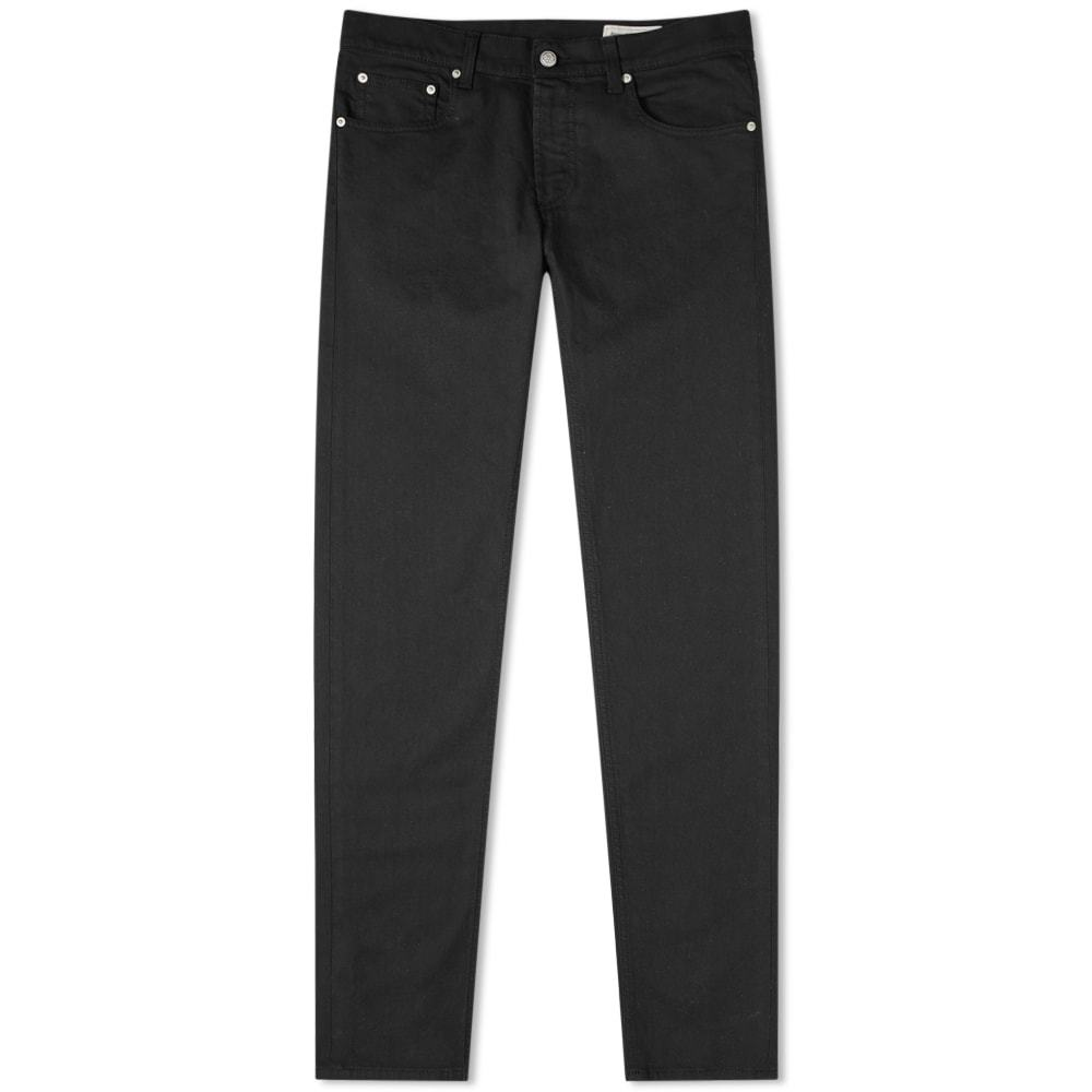 Photo: Alexander McQueen Embroidered Pocket Skinny Jean