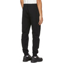 C.P. Company Black Diagonal Raised Lounge Pants