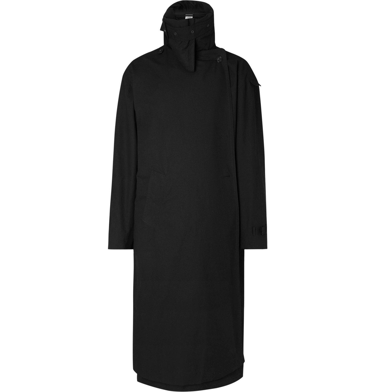 Photo: Vetements - Incognito Cotton Trench Coat - Black
