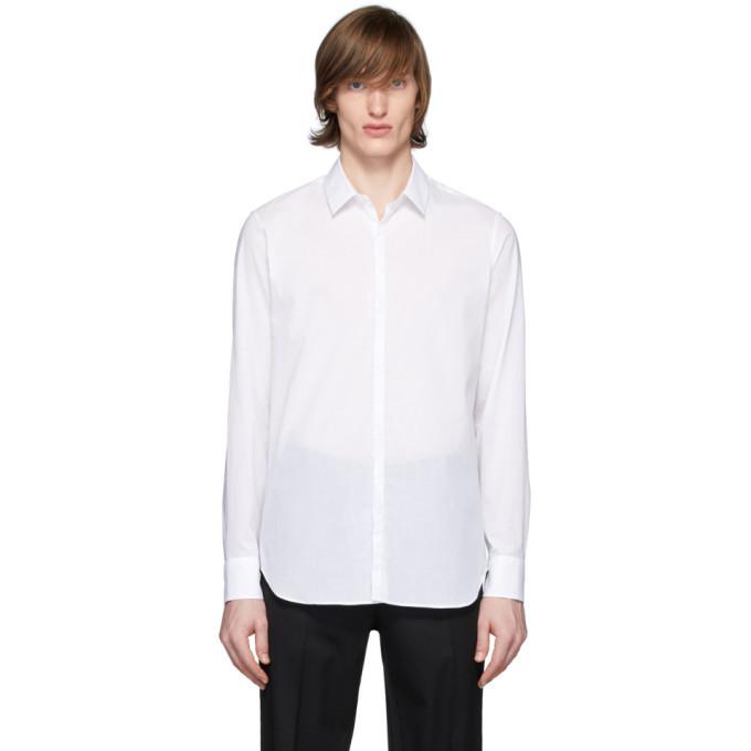 Photo: Ann Demeulemeester White Cotton Shirt