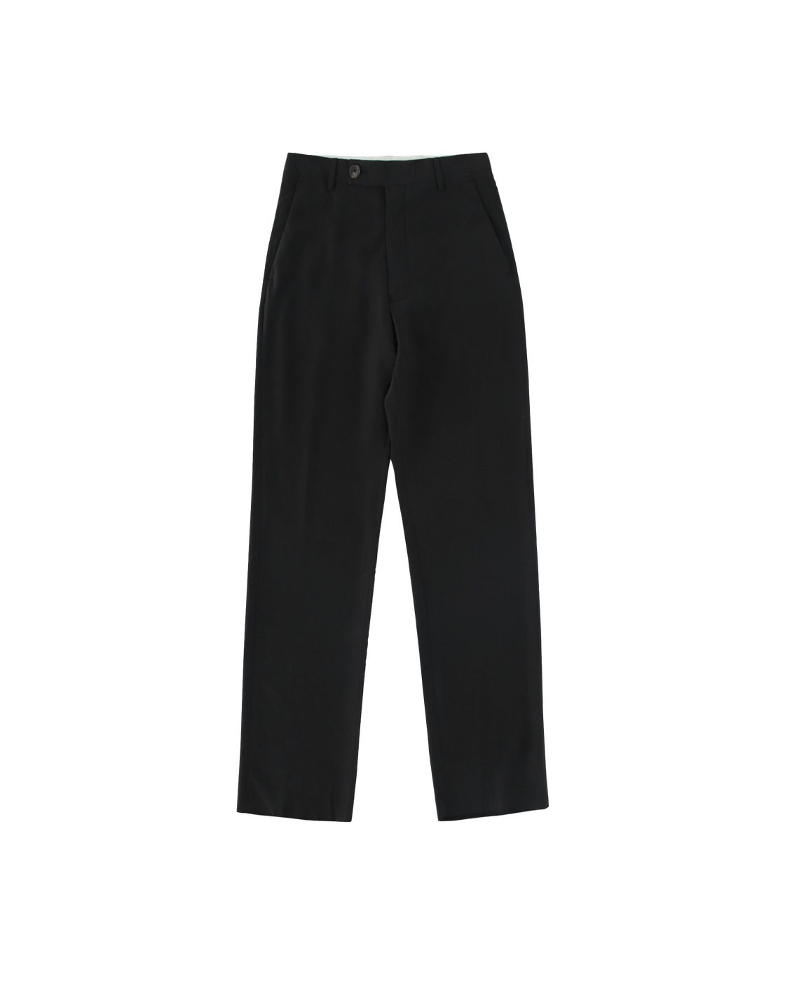 Martine Rose Straight Tailored Trousers Black