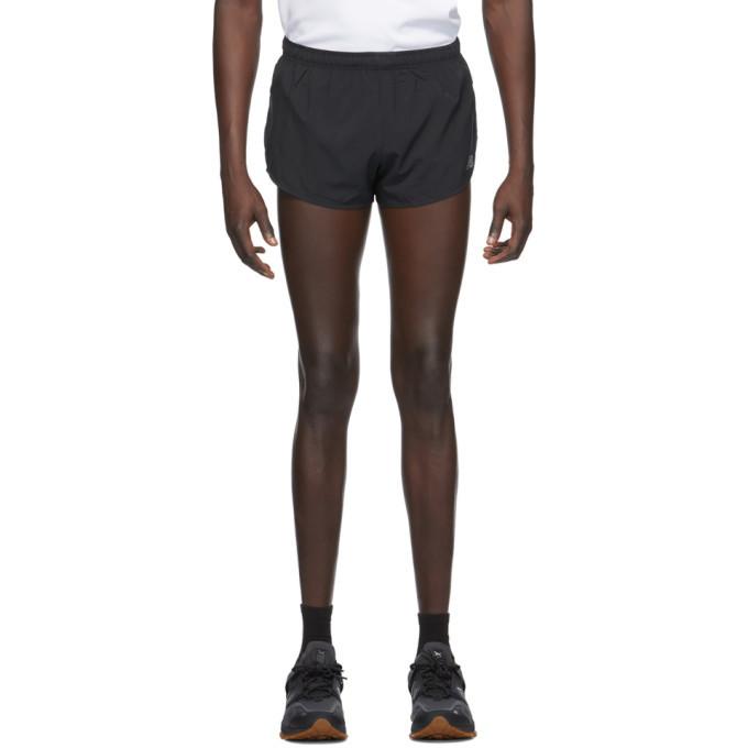 Photo: New Balance Black Impact Run Shorts