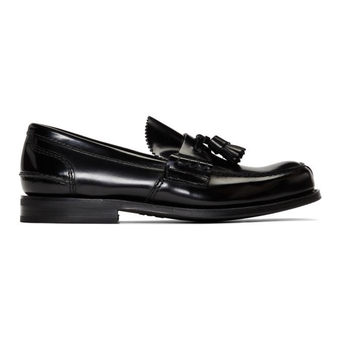 Photo: Churchs Black Tiverton R Bookbinder Loafers