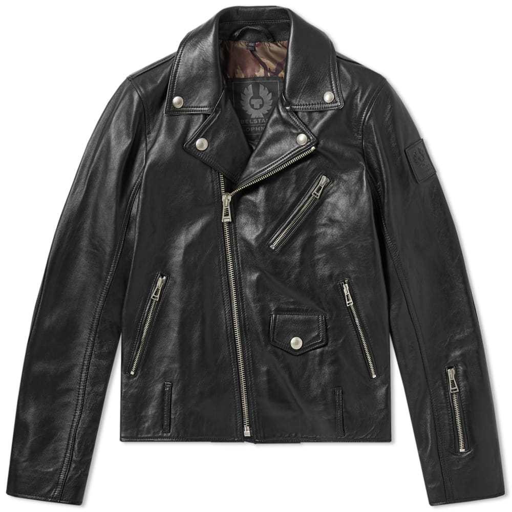 Photo: Belstaff x SOPHNET. Harden Leather Biker Jacket
