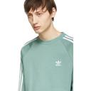 adidas Originals Green 3-Stripes Sweatshirt