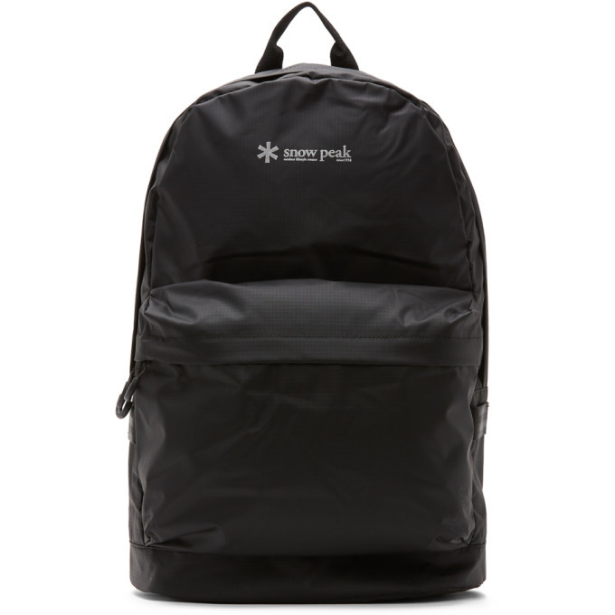 Photo: Snow Peak Black Daypack Backpack