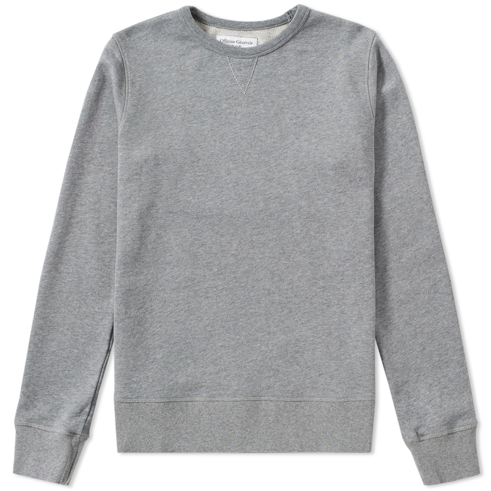 Officine Generale French Terry Crew Sweat