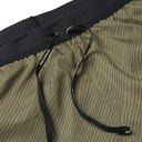 Nike Running - Flex Stride Logo-Print Ripstop-Panelled Dri-Fit Running Shorts - Green