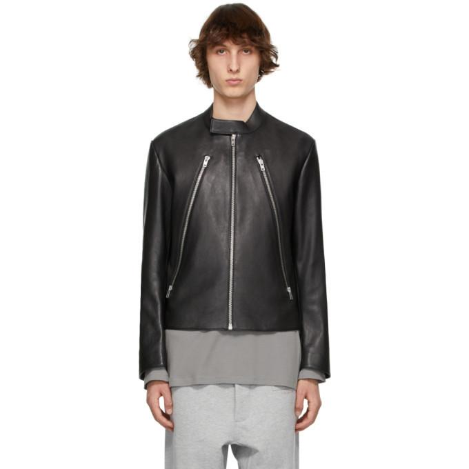 Photo: Maison Margiela Black Goatskin Sports Jacket