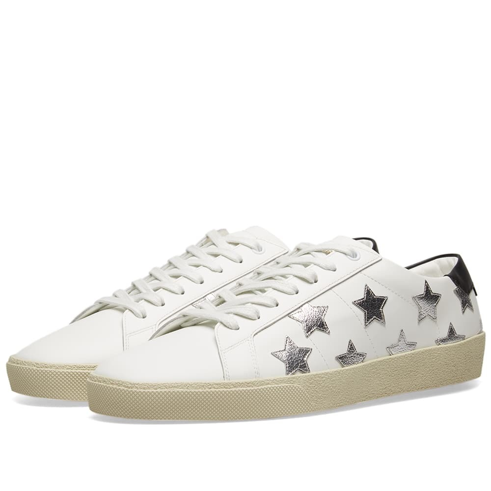 Photo: Saint Laurent SL-06 California Star Low Sneaker