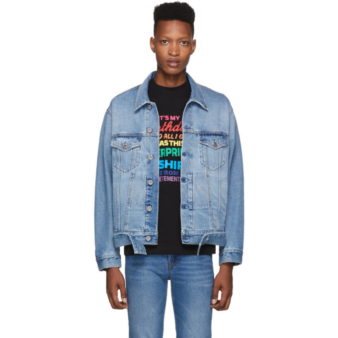 Photo: Vetements Blue New Classic Denim Jacket
