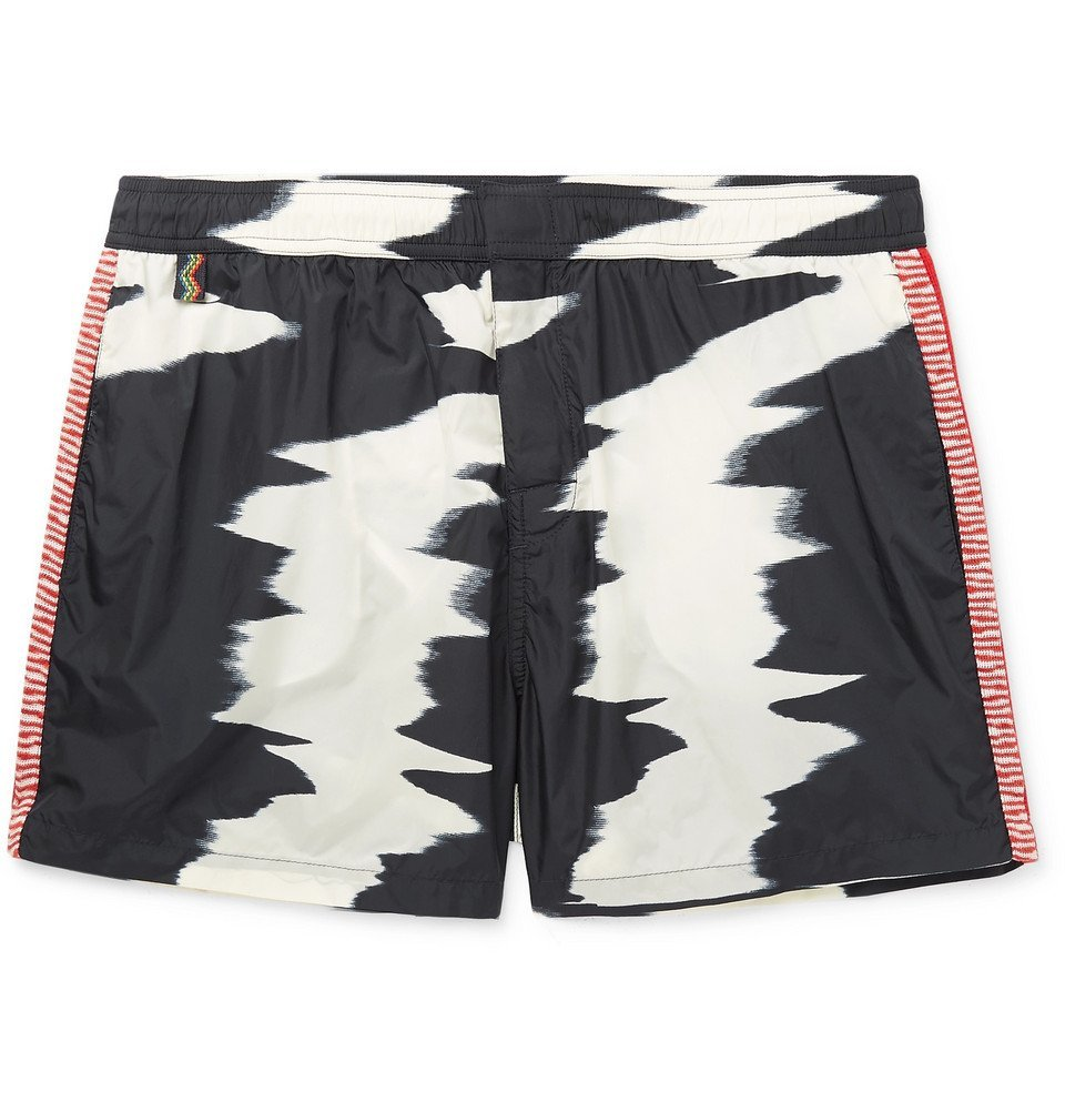Photo: Missoni - Mid-Length Printed Swim Shorts - Multi