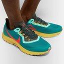 Nike Running - Air Zoom Pegasus 36 Trail Mesh Running Sneakers - Blue