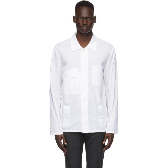 Photo: Maison Margiela White Garment-Dyed Shirt