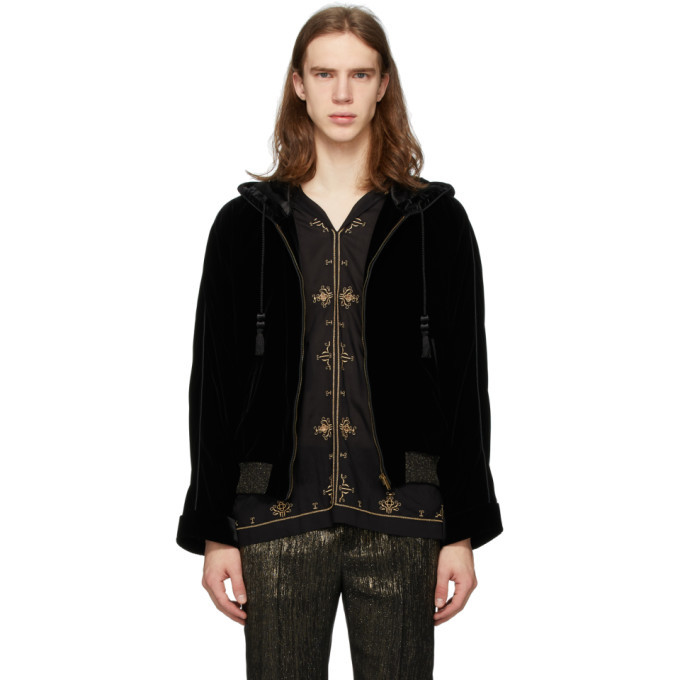 Photo: Saint Laurent Black Djabella Jacket