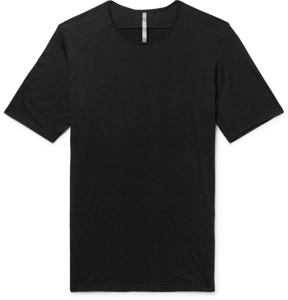 Photo: Arc'teryx Veilance - Frame Slub Wool-Jersey T-Shirt - Black