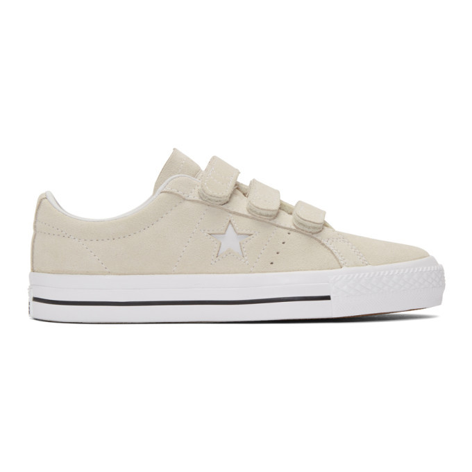 Photo: Converse Off-White Suede One Star Pro Sneakers