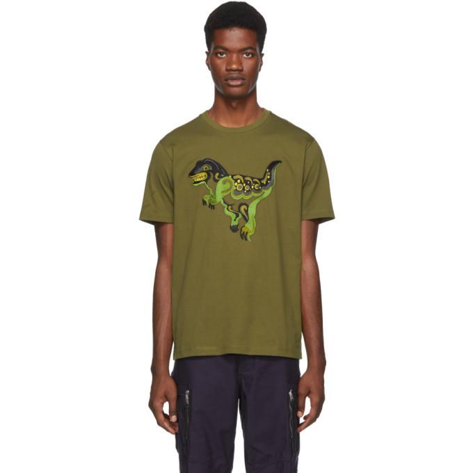 Photo: Coach 1941 Green Zhu Jingyi Edition Rexy T-Shirt