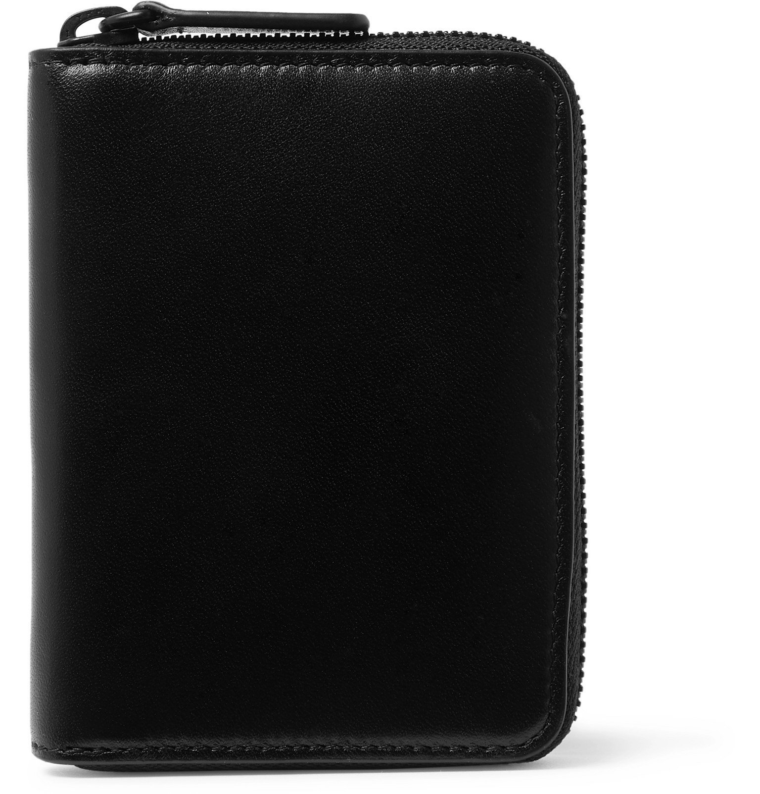 Photo: Common Projects - Leather Zip-Around Wallet - Black