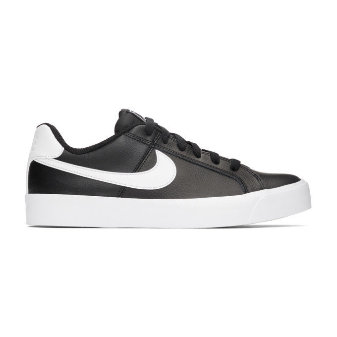 Photo: Nike Black and White Court Royale AC Sneakers