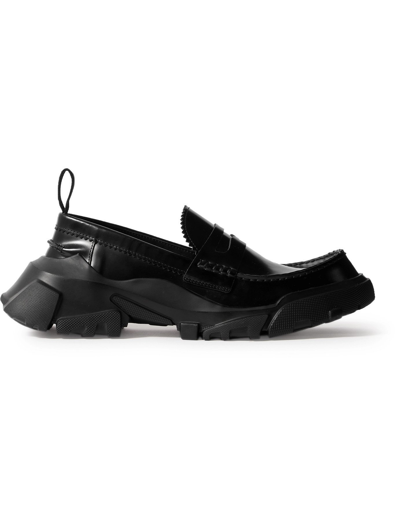 MCQ - ED6 Orbyt Leather Penny Loafers - Black