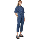 Stella McCartney Blue Denim Jumpsuit