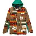 Sacai - Pendleton Panelled Canvas and Printed Cotton-Corduroy Jacket - Men - Brown