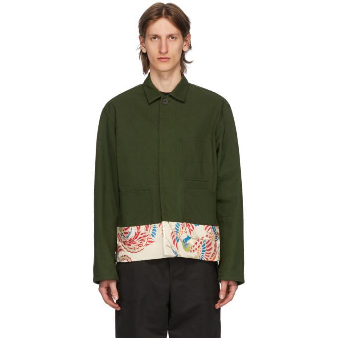 Photo: Haider Ackermann Khaki Workwear Jacket