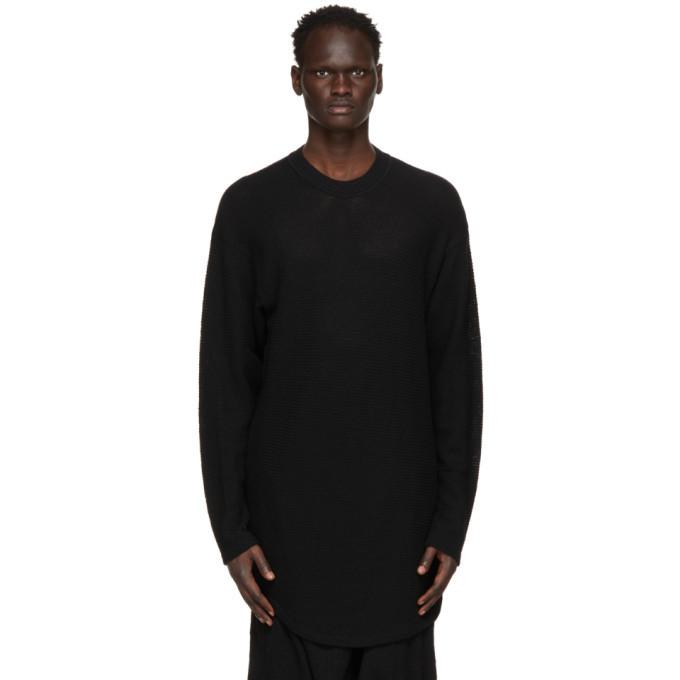 Photo: Julius Black Wool Pullover Sweater