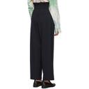 3.1 Phillip Lim Navy Paperbag Waist Trousers