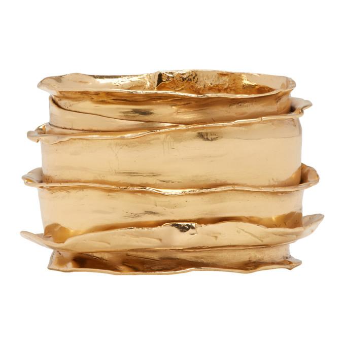 Photo: Emanuele Bicocchi Gold Band Ring