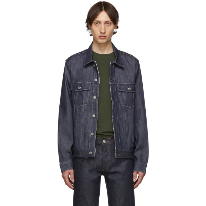 Photo: A.P.C. Indigo Denim Charles Jacket