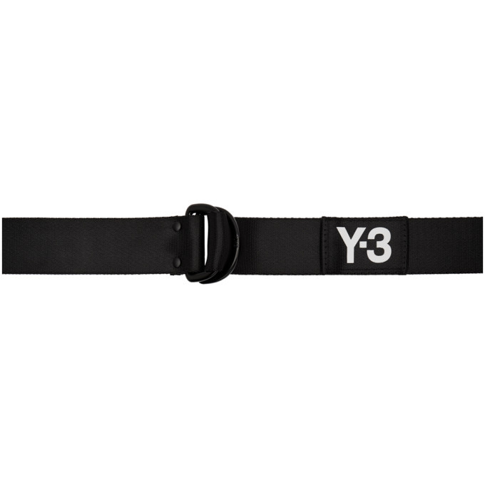 Photo: Y-3 Black Logo Belt