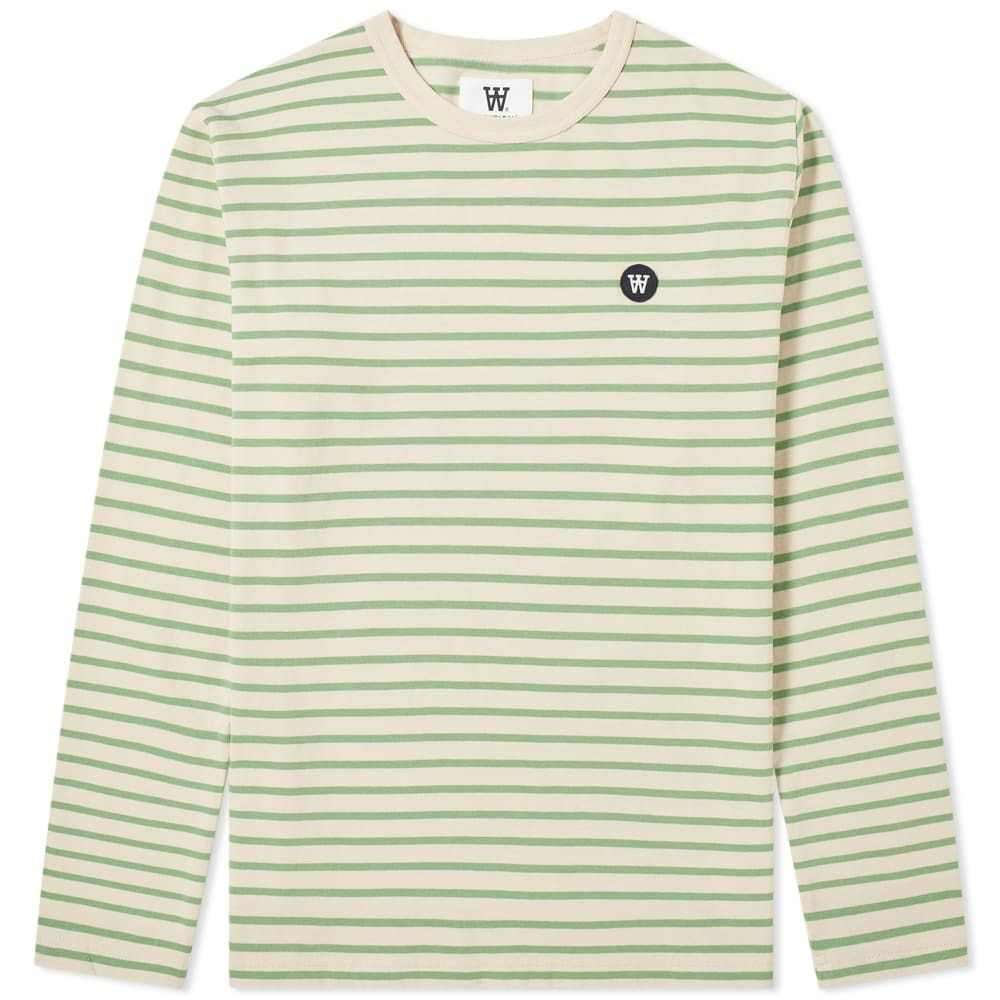 Photo: Wood Wood Long Sleeve Mel Stripe Tee