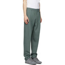 Stella McCartney Green Wool Tye Trousers