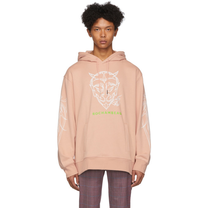 Photo: Rochambeau Pink Devil Core Hoodie
