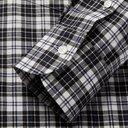 Dunhill - Button-Down Collar Checked Cotton-Flannel Shirt - Men - White