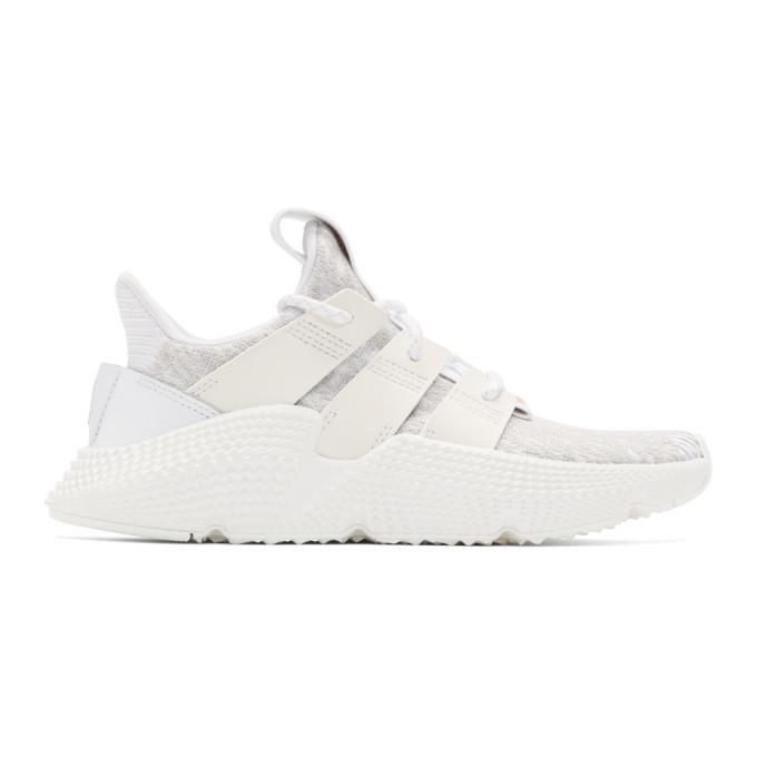 adidas Originals White Prophere Sneakers