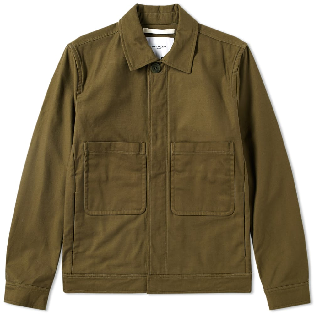 Photo: Norse Projects Tyge Broken Twill Jacket