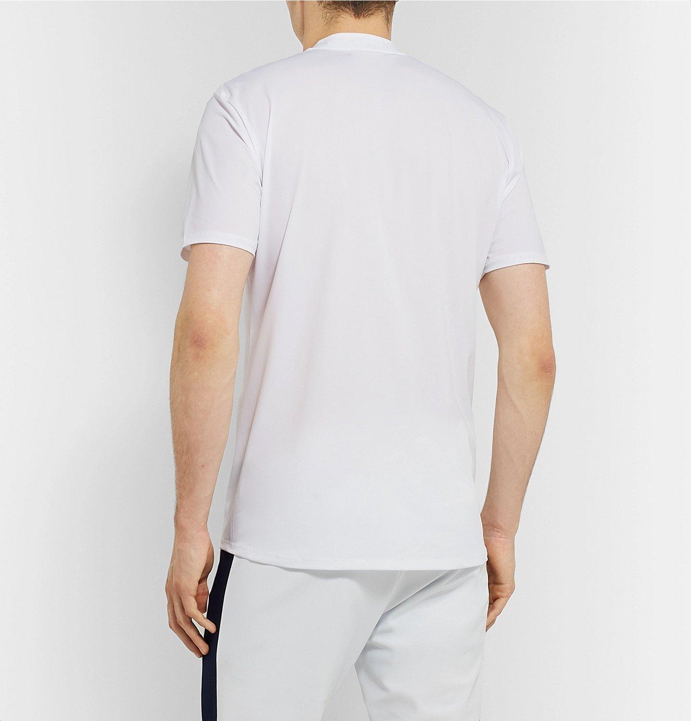Castore Andy Murray Arnaud Stretch Tech Jersey Tennis T Shirt White Castore